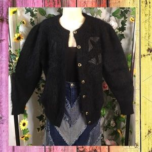 Super soft fluffy cardigan with beautiful details